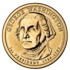 "1 доллар 2007 - 1-й президент ""Джордж Вашингтон (George Washington)"""